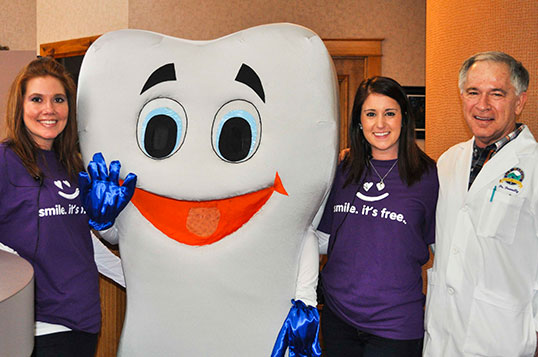 Free Dental Care Dentistry from the Heart 2014